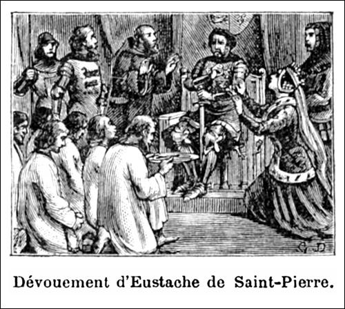 Dévouement d'Eustache de Saint-Pierre